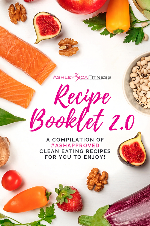Recipe Booklet Bundle