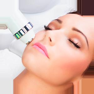 Laserterapia facial estética