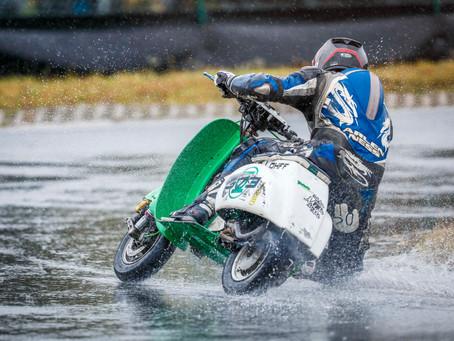 Race in the Rain, trocken kann doch jeder!