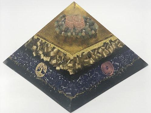 Orgonite Pyramide Abondance