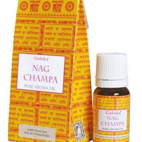 Huile Goloka Nag Champa 10 ml