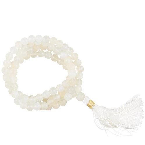 Mala pierre de lune AA 108 perles