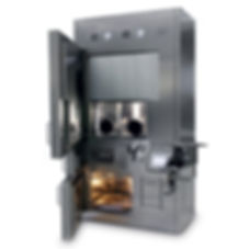 Экранированные изолятор класса B для модуля синтеза и изолятор класса А  для фасовки