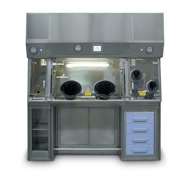 Ззащитная стерильная камера для манипуляций с радиофармпрепаратами
