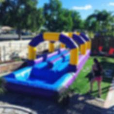 The slip n slide was a success!.jpg