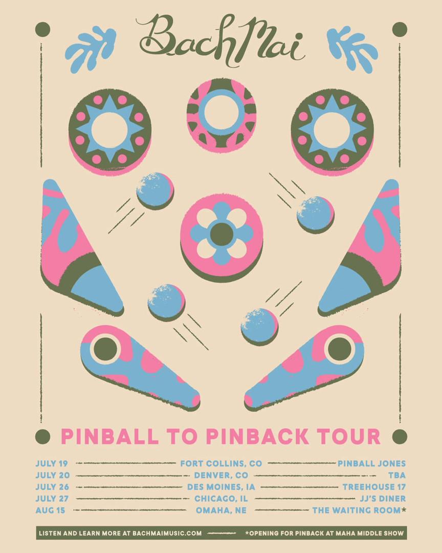 Bach Mai   Pinball to Pinback Tour Instagram Promo
