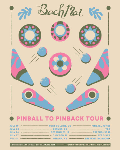 Bach Mai | Pinball to Pinback Tour Instagram Promo