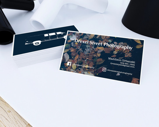 Drexel Street Photography Business Card