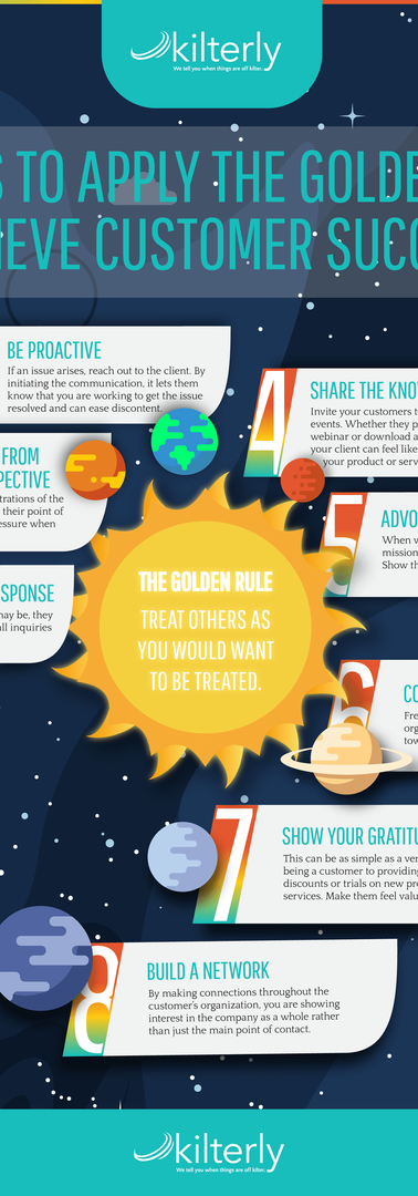 8 Ways to Apply the Golden Rule to Achieve Customer Success