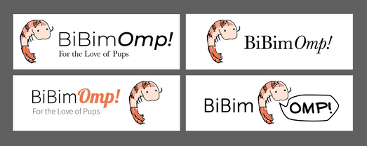 BiBimOmp Logo Board