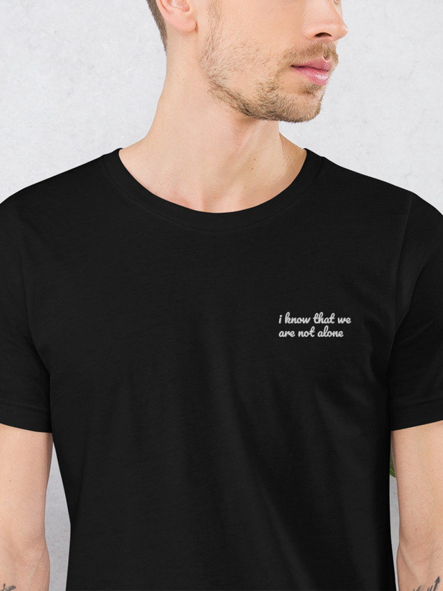 Daybreak Lyric Embroidered T-Shirt $20