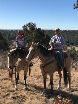 trail ride break