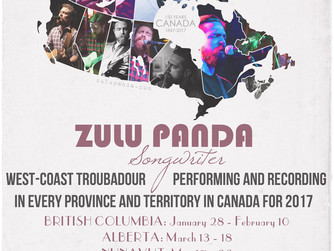 Half-Way Through - Zulu Panda's One-Fifty Project