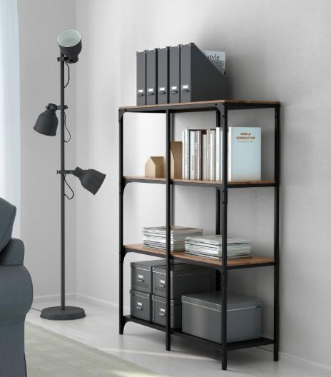 Étagère-FJALLBO-IKEA-bureau
