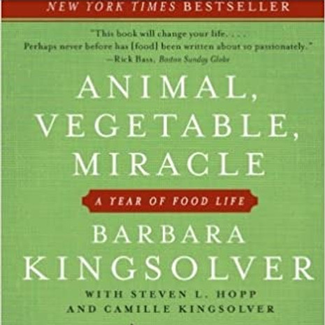 Permaculture Book Club - March: ANIMAL, VEGETABLE, MIRACLE