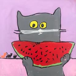 Looking forward to watermelon  season🍉!