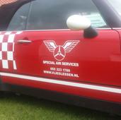 Leuke Mini in huistijl van Special Air Services