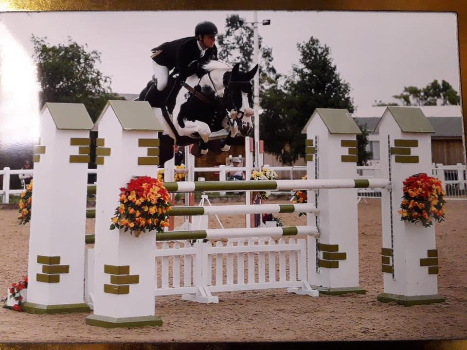 Ferdi jumping, wow.