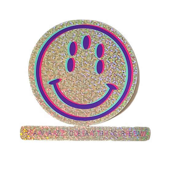 Sticker SMILEY#2 - ALL GLITTER