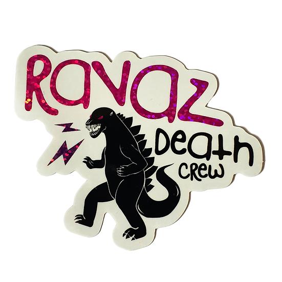 Sticker LOGO RAVAZ - GLITTER