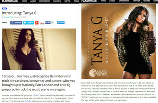 FLAVOUR MAG INTRODUCES TANYA G