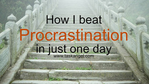 How I Beat Procrastination In Just One Day (The Staircase Technique)