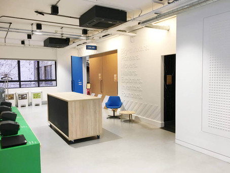 Spectacular High Tech Office Refurb Completed On Time