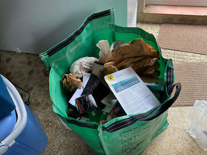 Create a task to take out the garbage, in TaskAngel To-do List