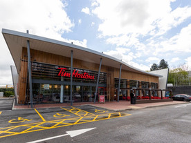 Tim Hortons UK expansion programme: 15 construction projects delivered during the pandemic.