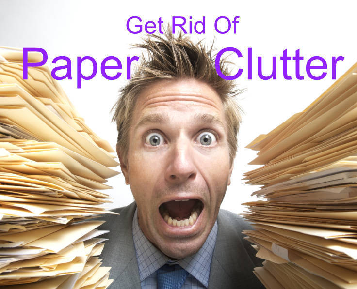 Productivity: Get Rid of Paper Clutter