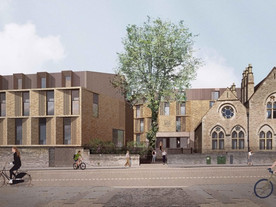 Passive House Accommodation Project at St Peter's College, Oxford