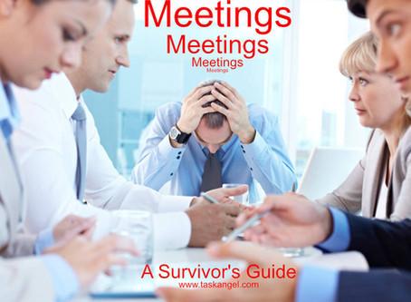 Meetings, Meetings, Meetings