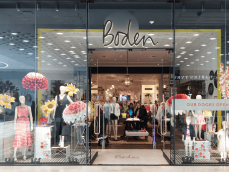 Exciting times—Boden's new concept leads to retail construction excellence