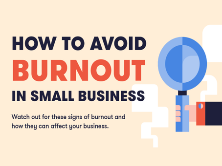 How To Avoid Burnout In Small Business