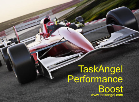Blast Off! Performance Boost And More For TaskAngel Windows (Free Upgrade For Existing Customers)