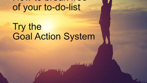 Throw Your To-do List Away! Get Going With The Goal Action System