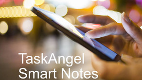 Smart Notes With TaskAngel for iOS