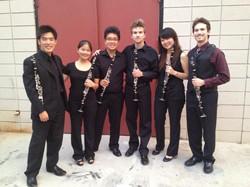 2013 Montecito Clarinet group