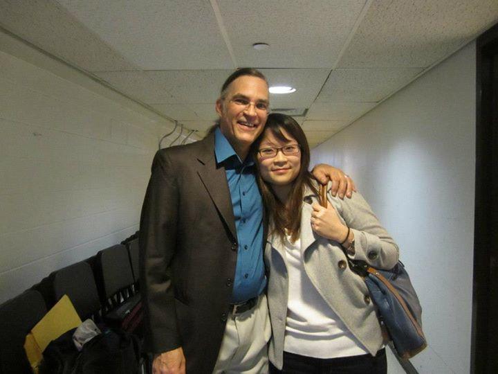 With Eric Mandat
