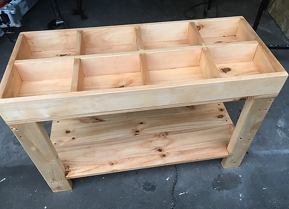 Tinker Table with shelf