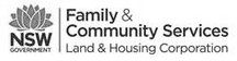 NSW Family & Commuity Service greyscale.