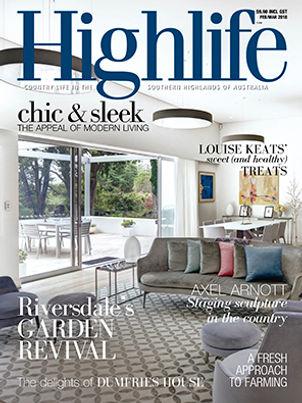 Camden Park House, Highlie Magazine Augst 2016