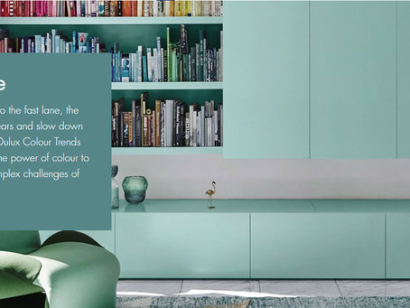 Dulux Colour Trends of 2018