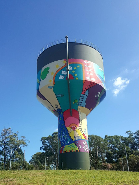 Water Tower – Partnership with Sydney Water and Urban Growth