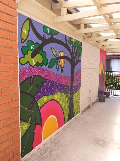Bonnie Support Service - Outdoor Murals