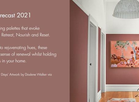 DULUX COLOUR TRENDS 2021