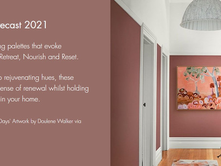 DULUX COLOUR TRENDS 2021