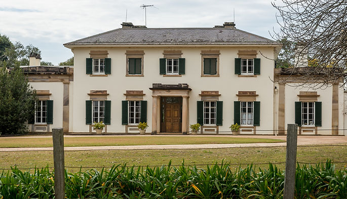 Camden Park House, Georgian Architecture, John Verge, 1835, Macarthur