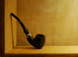 Still Life Pipe by David Miller