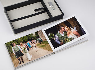 The Keepsake Package with A5 album and crystal USB